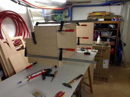 Möbelbau für VAVA-U_3