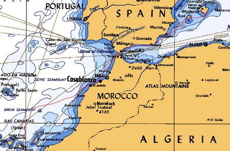 Mallorca-Las Palmas_November 2009