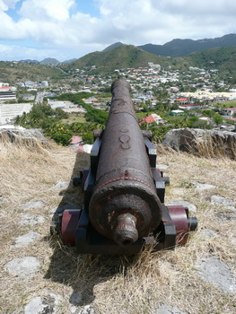 Fort Louis Kanone