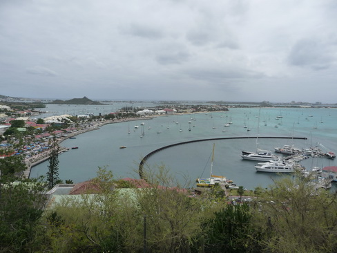 Marigot Bay vom Fort louis aus_2