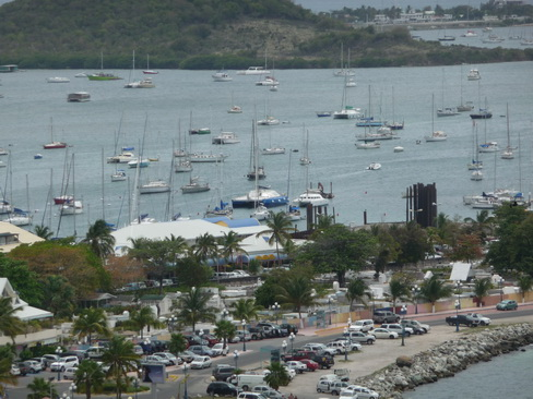 Marigot Bay vom Fort louis aus_5