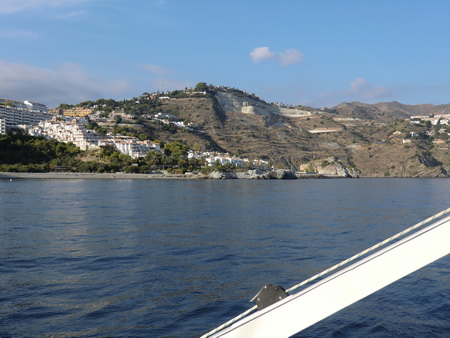 Marina del Este achteraus