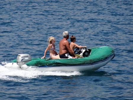 Motorbootdriver Mathis