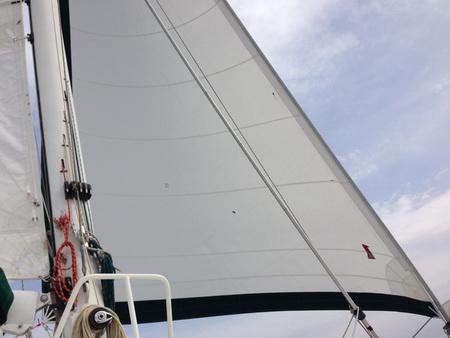 Neue Segel auf VAVA-U-1