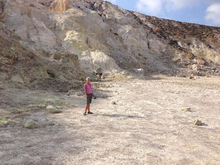 in der CAldera Nisyros