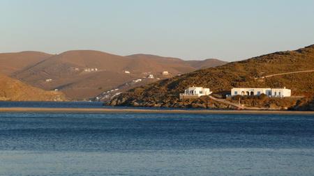 Ormos Kolona auf Kythnos