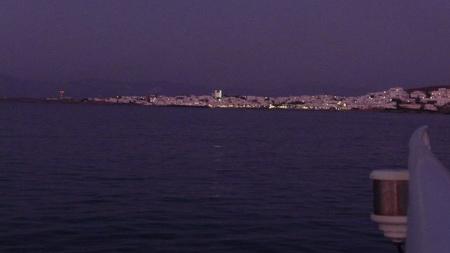 Ormos Plastira bei Nacht auf Paros-1