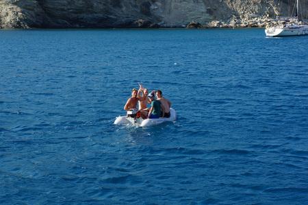 Ormos Vathy auf Folegandros