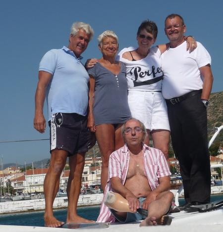 Abschiedsfoto in Samos