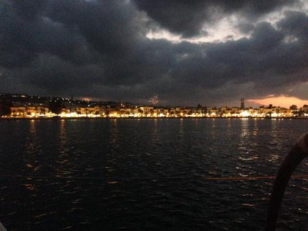 Feuerwerk über Rethymno