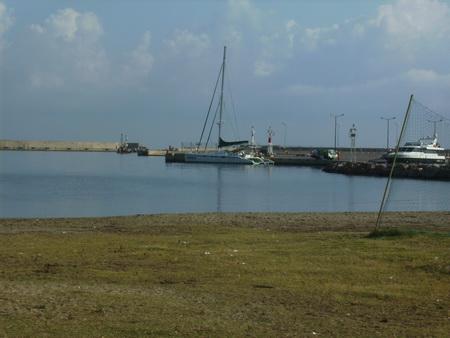 Liegeplatz in Rethymno-Marina