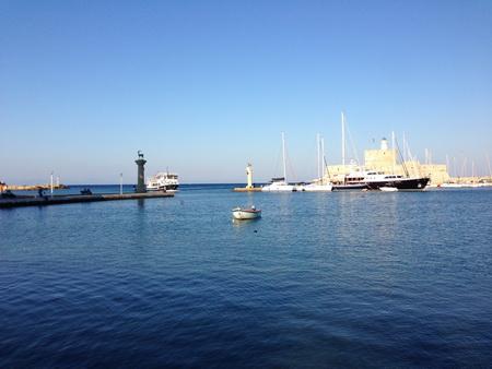 Rhodos-Hafen