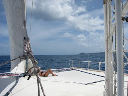 Segeln zum Gorda Sound1052