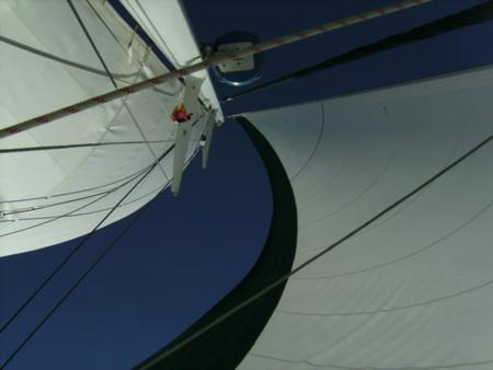 Segeln im Golf von Korinth