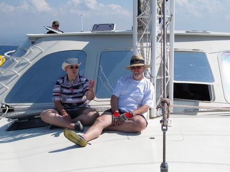 Sibylle und Rüdiger - Mittelmeer wir kommen