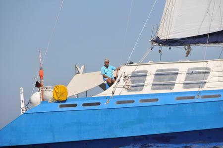 Skipper Martin und blu-kat