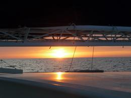 Sonnenaufgang bei Chartagena