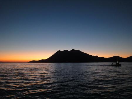 Sonnenuntergang auf Amorgos