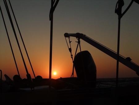 Sonnenuntergang im Atlantik