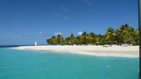 Strand und Riffe