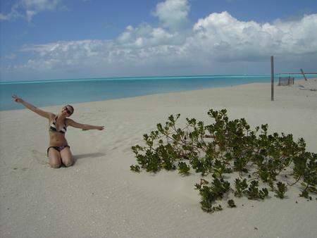 Strandwanderung-Barbuda