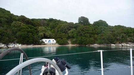 Tina Onassis Bay auf Skorpios