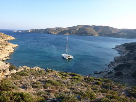Treis Klisses Bucht auf Ios