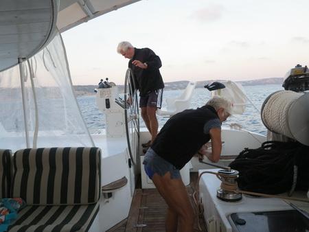 Ursel auf See Nisyros-Kos887