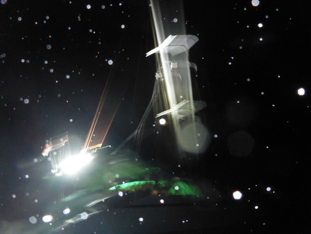 VAVA-U bei Nacht
