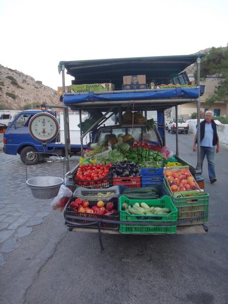 Einkauf in Vathy