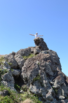 Wanderung auf Ilet Fourchue-2011