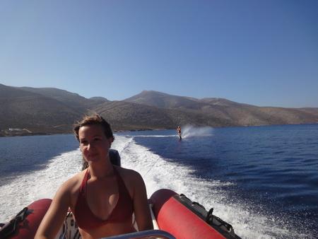 Wasserskiboot