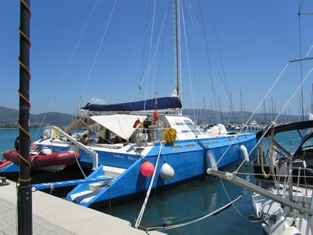blu-kat im Hafen Lefkas-2