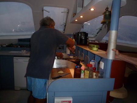 kochen auf blu-kat