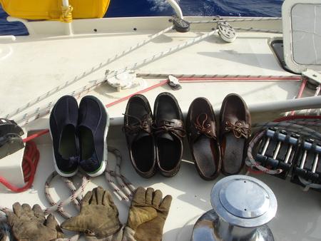 nasse Schuhe