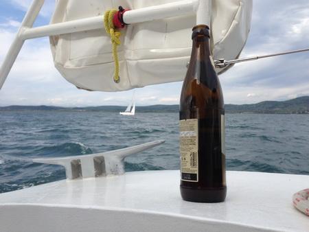 unser Bier bleibt stehen