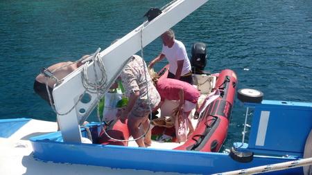 zurück vom Einkauf auf Amorgos-6